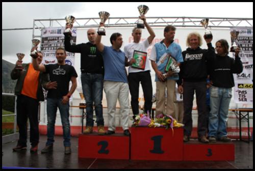 Gorno Oneta - PassoZambla. Il podio dei campioni 2012