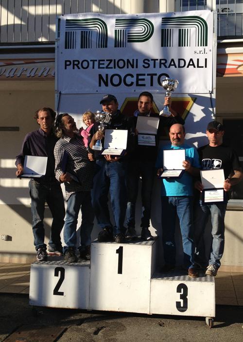 Varano De' Melegari: il podio dell'ultima gara di campionato 2012