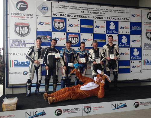 International Sidecar Trophy - Un podio quasi tutto Italiano